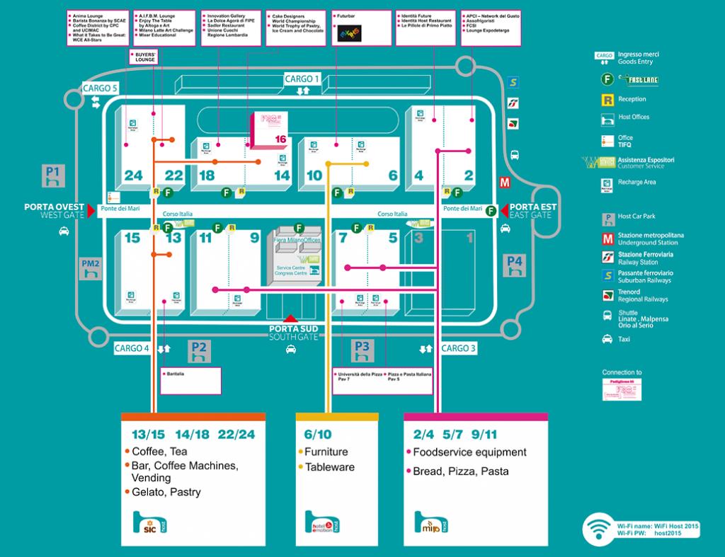 Host 2015 Mappa | Sygest Srl