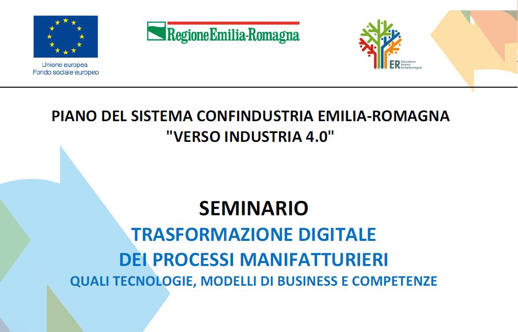 Verso Industria 4.0 – Seminario