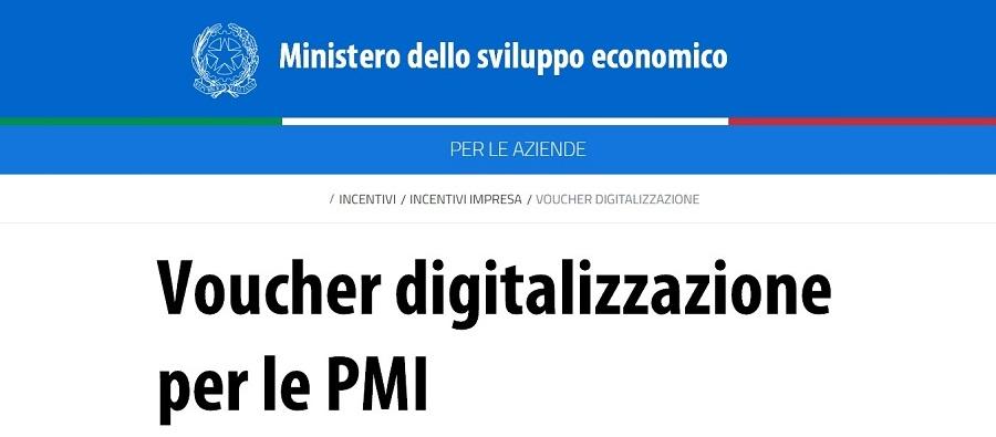 Voucher digitalizzazione PMI - MISE | Sygest