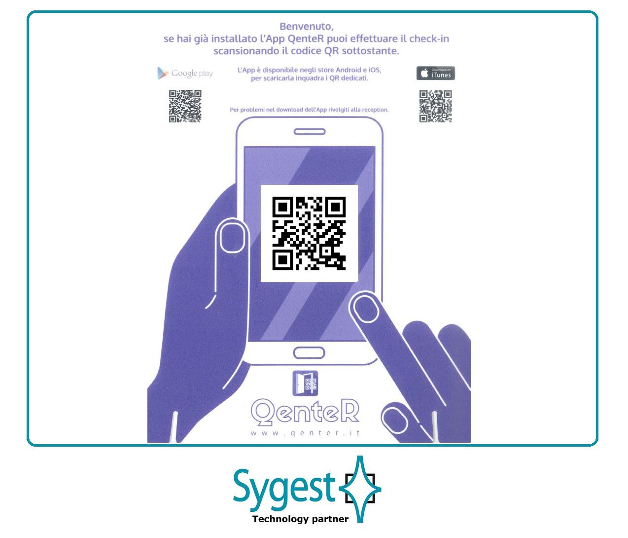 QenteR Suite - Gestione visitatori in azienda | Sygest Srl