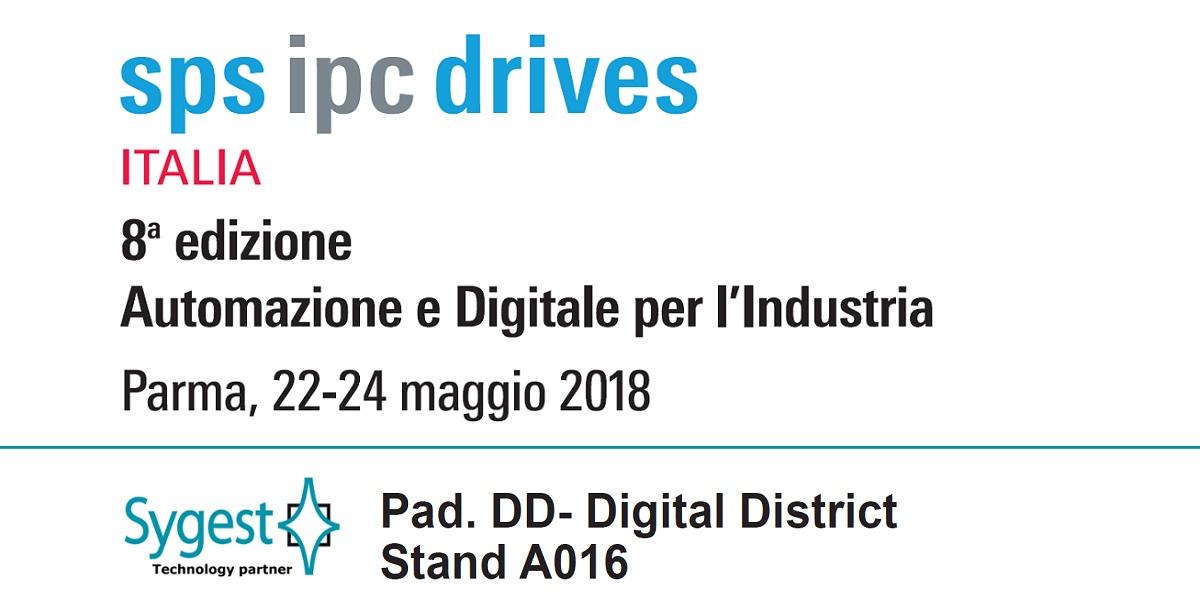 SPS Italia 2018 – automazione industriale | Sygest Srl