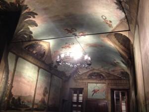 Il refettorio del Monastero di Parma, sede del convegno sul PDF.