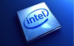 Intel sfondo blu - Notebook Android