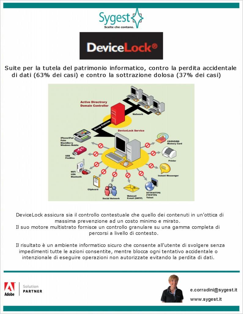 device lock sicurezza - Sygest Srl