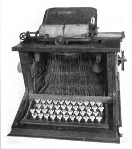 La macchina da scrivere Sholes - Primo computer - Sygest