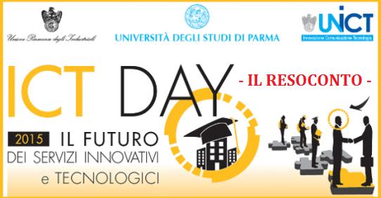 Resoconto ICT Day 2015
