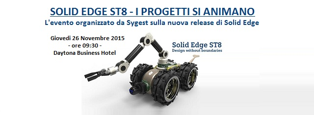 ST8 Solid Edge | Sygest Srl