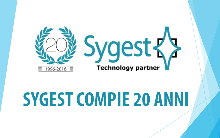 Sygest Srl compie 20 anni