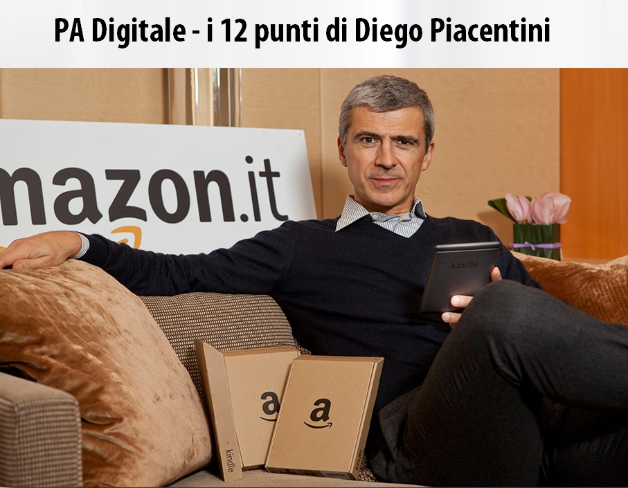 PA Digitale | 12 punti Diego Piacentini