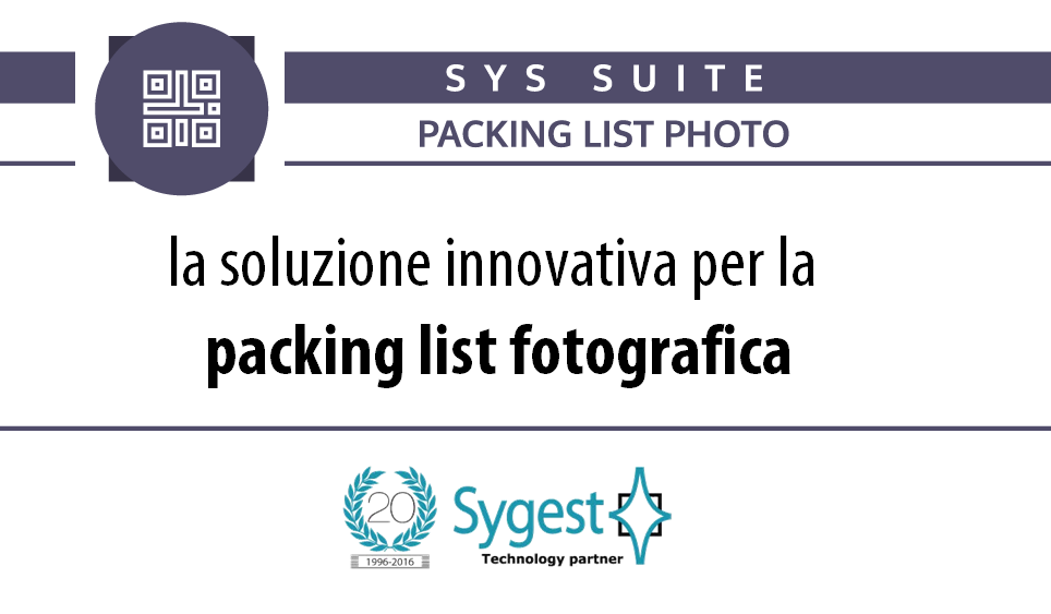 Packing list fotografica | Packing List Photo - Sygest