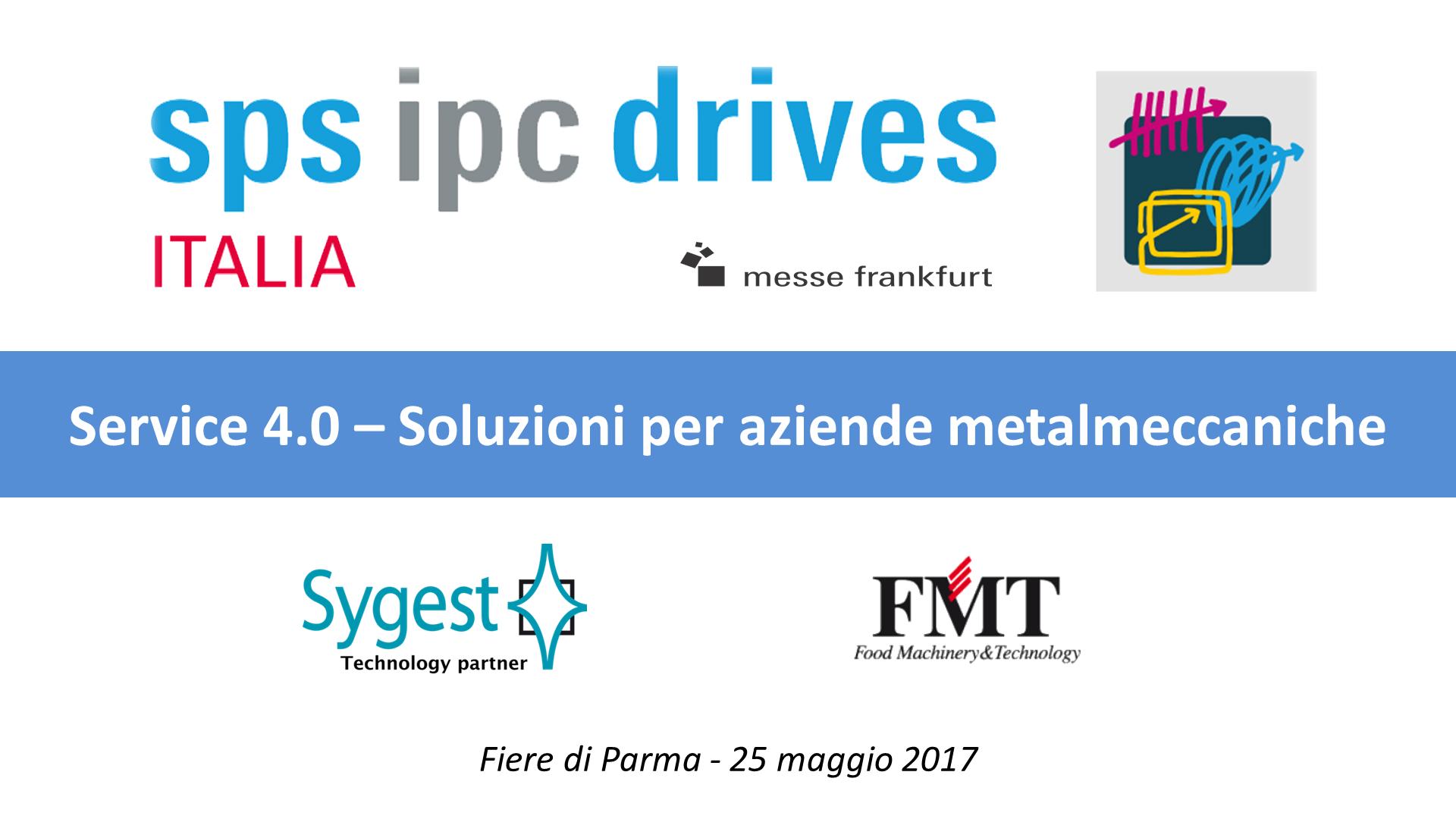 SPS 2017 - Service 4.0 | Sygest - FMT