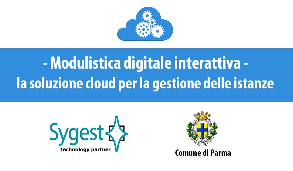 Modulistica digitale interattiva - soluzione cloud | Sygest