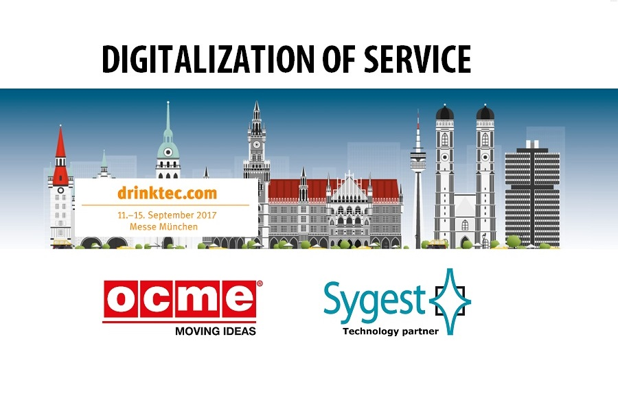Drinktec 2017 - OCME | Sygest