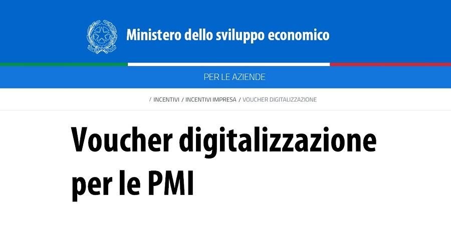Voucher digitalizzazione PMI | Sygest