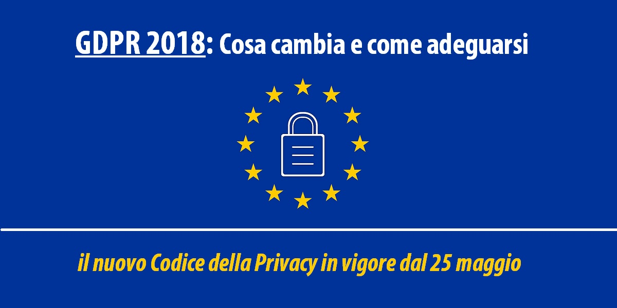 GDPR 2018 - General Data Protection Regulation | Sygest Srl