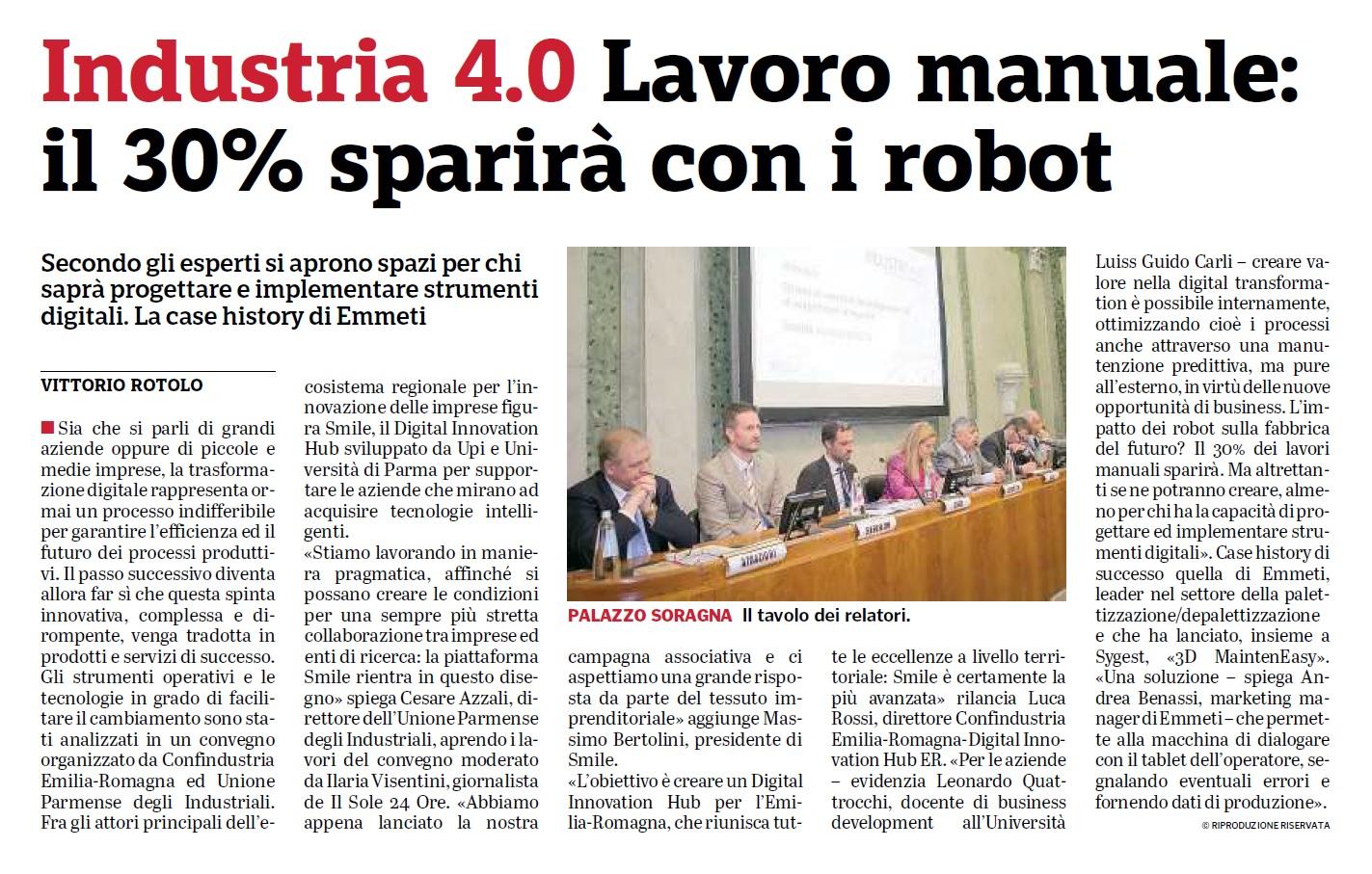 Industry 4.0 - Confindustria Parma   Sygest