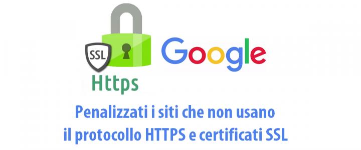 HTTPS - certificati SSL - ranking Google | Sygest