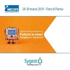 MECSPE 2019 – Sygest presente in fiera