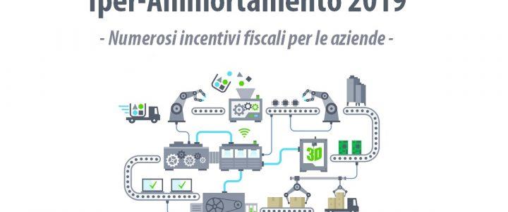 Iper-ammortamento 2019 – incentivi fiscali Industria 4.0 | Sygest Srl