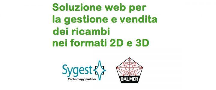 Web Spare Parts - Gestione e vendita ricambi nei formati 2D e 3D | Sygest