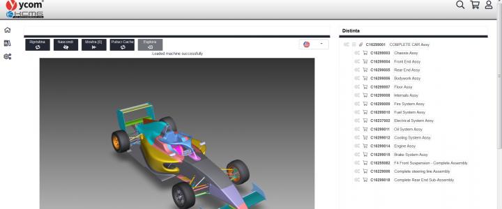 Cataloghi ricambio interattivi 3D - Ycom | Sygest Srl