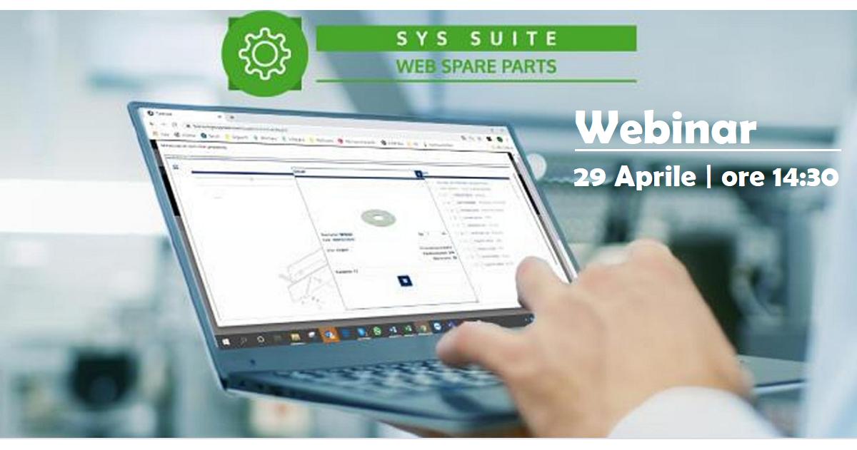 Software ricambi online - webinar | Sygest Srl
