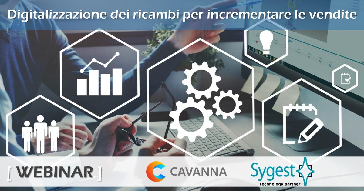 Digitalizzazione dei ricambi - Post vendita - Webinar | Sygest Srl