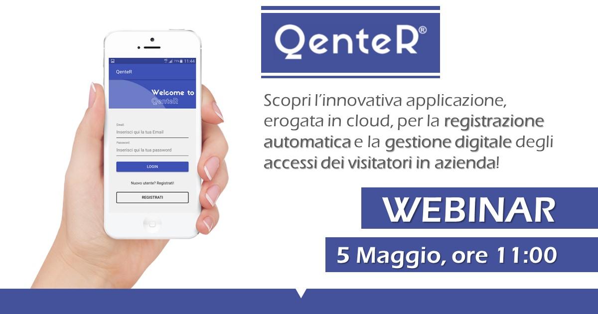 gestione accessi - QenteR - webinar | Sygest Srl