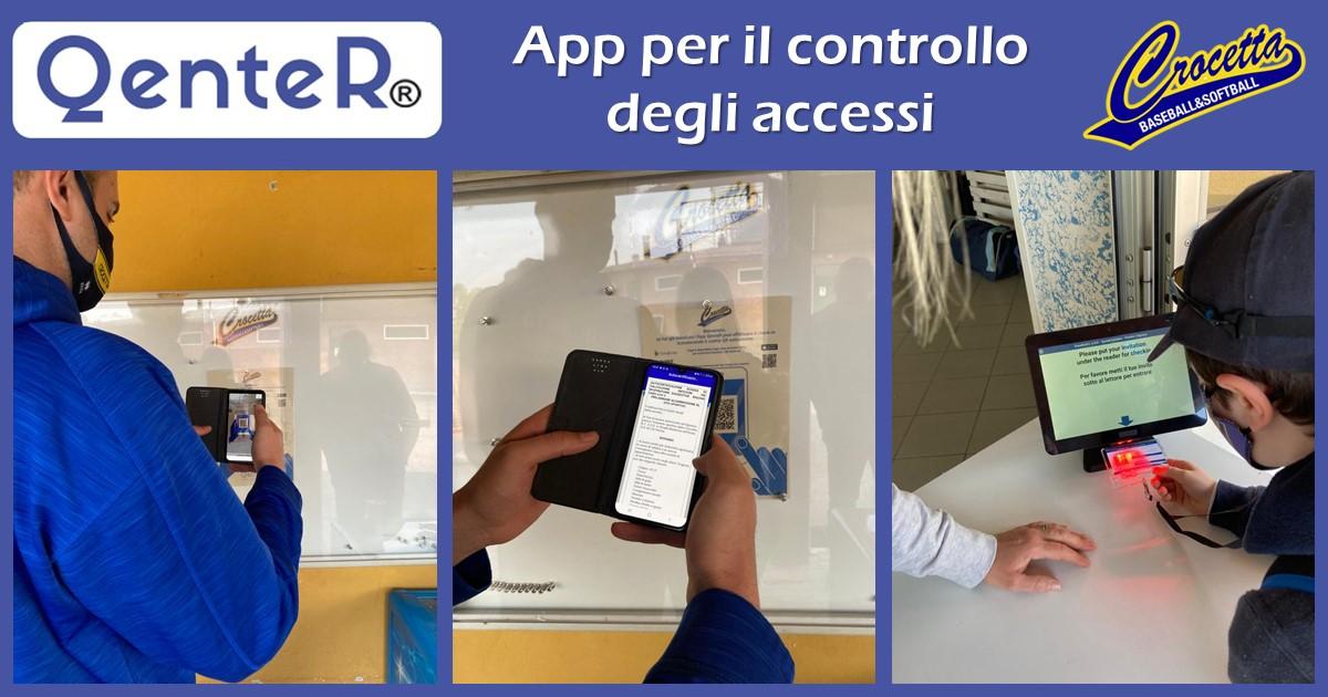controllo accessi - QenteR - Crocetta Baseball | Sygest Srl